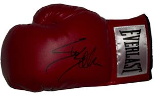 Sylvester Stallone Signed Boxing Glove from Rocky Movie