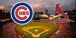 Cubs vs Cardinals May 4th @ 4:05 pm