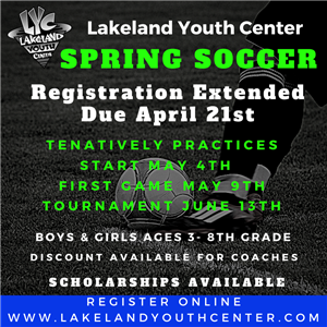 Spring Soccer Updated